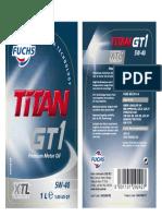 TITAN+GT1+5W-40+XTL+1L