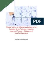 1.3-Modelo Teórico de Enfermería Adaptado en Los Cuidados de Los Pacientes o Usuarios