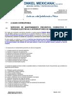 Fonkel Mexicana - Servicios a Interruptores