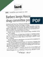 Manila Standard, Sept. 19, 2019, Barbers keep House drug committee post.pdf