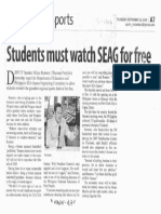Manila Standard, Sept. 19, 2019, Students must watch SEAG for free.pdf