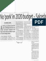 Manila Times, Sept. 19, 2019, No pork in 2020 budget-Salceda.pdf