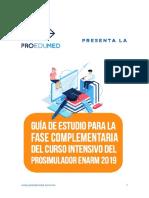 Guia de Estudio Fase Complementaria Curso Intensivo de Prosimulador Enarm 2019 v2