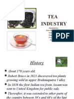 24640390 Project Report on Tea Industry