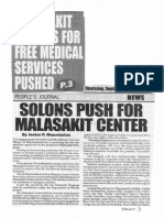 Peoples Journal, Sept. 19, 2019, Malasakit center for free medical services pushed.pdf