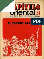 Capitulo_Oriental_31 El Teatro Actual