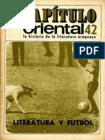 Capitulo Oriental Nro 42 Literatura y futbol