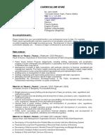 SampleCV(Resume).doc