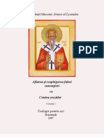Sf. Irineu Al Lyonului, Vol. 1
