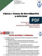 Prioridades Regionales de Investigación en Salud (1)