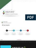 Report Light PPTX