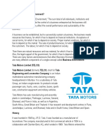 ISC commerce project Swot Analysis of Tata Moters