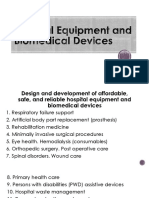 Hospital Equipment and Biomedical Devices
