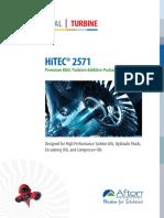 HiTEC-2571 PDS Premium R&O Turbine