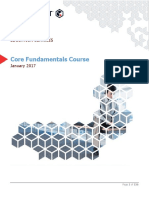 Core Fundamentals Course Student Guide v 11