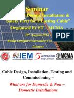 Cable IEM