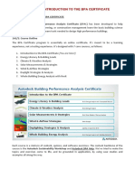Course 1 Notes (Introduction to the BPA Certificate)