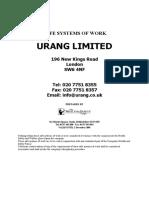 Urang Safety at Work