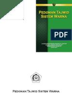 Buku Pedoman Tajwid Sistem Warna
