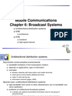 Broadcast Systems in mobile computing