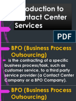 Introduction to Contact Center Services