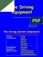 pile driving equipment