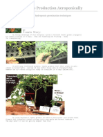 Aeroponic Growing Systems for Greenhouses and Indoors the Natural Solution for Clean Aeroponic Food Indoors