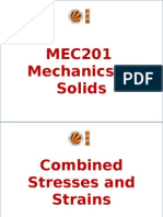 Chapter 7 Combined Stresses and Strains.(SOM-201)