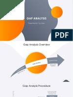 Gap analysis ppt