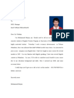 CV of Deemar