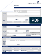Individual Account Opening Form