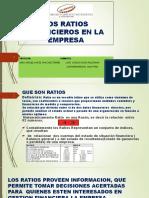 Analisis de Los Estados Financieros Con Ratios Trabajo de Exposicion 02 de Junio 2019 en PDF