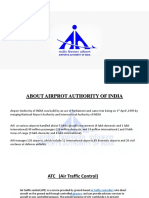 Airport Authority of India Presentation