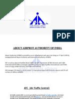Airport Authority of India Presentation