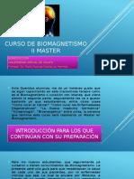 Curso de Biomagnetismo II Master Introduccion