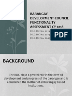 Bdc Functionality Assessment