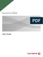 User Guide SC2020 Xerox