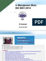 1. Awareness ISO 9001 2015 Training Material Rev.1-Sekolah