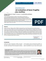 UTF-8'en'[1479683X - European Journal of Endocrinology] MECHANISMS in ENDOCRINOLOGY- Mechanisms and Evaluation of Bone Fragility in Type 1 Diabetes Mellitus