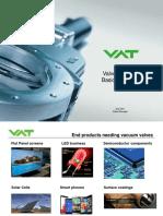 Important design of vacuum valve