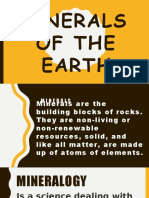 Minerals of the Earth