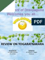 Yoga Ratna Kara