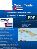 US - Cuban Trade