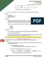 BASIC DATABASE DML 1