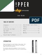 Dipper Vaporizer User Guide