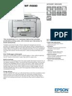 WorkForce Pro WF R5690 DTWF Datasheet