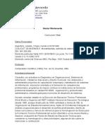 CV Héctor Monteverde