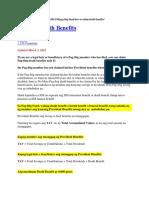 Pag-ibig Death Benefits