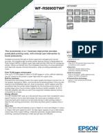 Workforce Pro Wf r5690dtwf Datasheet