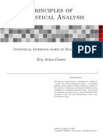 Principles of Statistical Analysis - V1